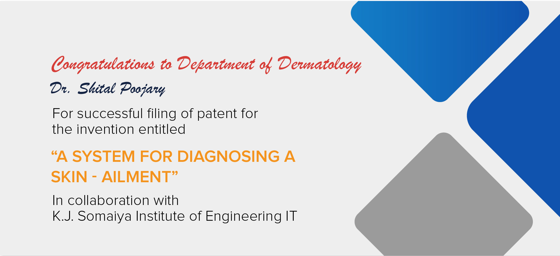 Department of Dermatology