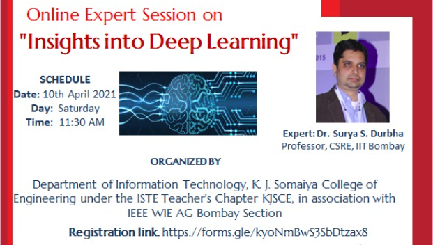 "2021-04-10 11:30:00  Online session on ""Insights into Deep Learning"""