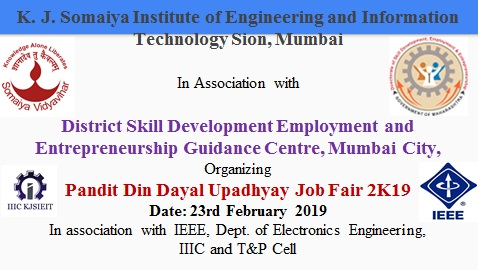 Pandit Din Dayal Upadhyay Job Fair 2K19